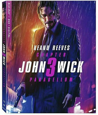 John Wick 3 Blu-ray, 2019 + Artwork case / No dvd, digital, slip cover