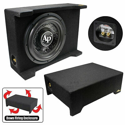 """Audiopipe 12"""" Loaded Sealed Enclosure 800 Watts Shallow Mount 4 ohm"""