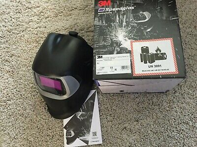 3M Speedglas Welding Helmet 100 BLACK with 100V Filter - 751120