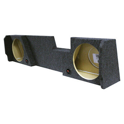 """Qpower Dual 12"""" 2014-2016 GM/Chevy Double Cab Woofer Box"""