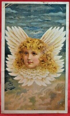 Arbuckle Bros Angel Series 1889 Victorian Trade Card Advertising Ariosa Coffee