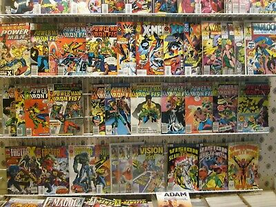 Spectacular Huge Lot of 50+ comics  Marvel+DC+ Ind VG to NM
