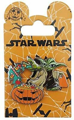 Disney Parks Trading Pin Halloween 2016 Yoda With Candy Star Wars