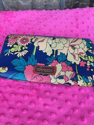 SAKROOTS Megan Snap Trifold  RASPBERRY IN BLOOM 107851  New!