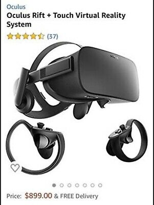 Oculus Rift+Touch virtual Reality system