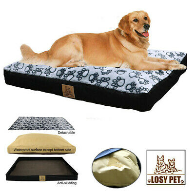 Pet Jumbo Dog Bed Soft Orthopedic Pet Bed w/ Removable Cover Living Room Couch