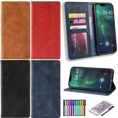 Leather Book Flip Phone Wallet Case Cover for iPhone 11 Pro Max XR X XS 8 7 Plus