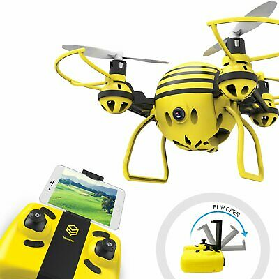 HASAKEE FPV RC Drone with HD WiFi Camera Live Video RC Quadcopter with Altitu...
