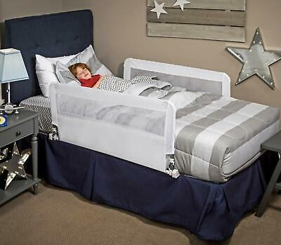 Regalo HideAway Double Sided Bed Rail Guard with Reinforced Anchor Safety System