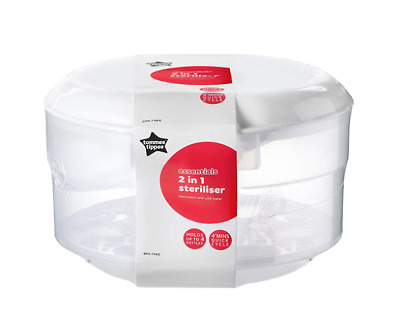Tommee Tippee Essentials Microwave Steriliser *BRAND NEW* *FREE DELIVERY*