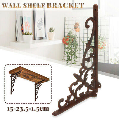 Iron Shelf Bracket Wall Shelf Bracket Cistern Toilet Sink Metal Chic