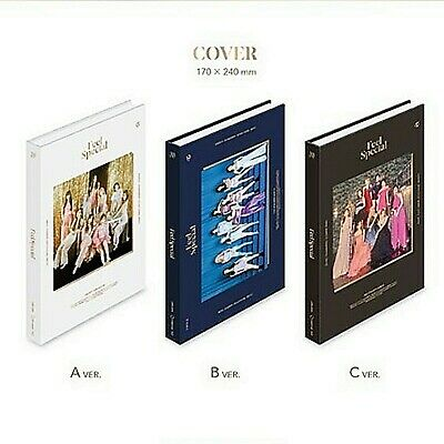 TWICE 8th Mini Album[ FEEL SPECIAL] 3 VERSION SET + 3 FULL PRE-ORDER BENEFIT +TR
