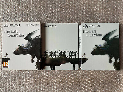 The Last Guardian Steelbook (NO GAME) PS4 Collectors Edition VERY GOOD CONDITION