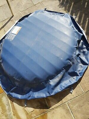 Lay Z Spa Tarpaulin Cover and inflatable insert.