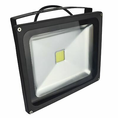 LED 30w Floodlight Security 1400 Lumen 6000k Day White Waterproof High Power E