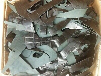 19 kilos of assorted Leather offcuts, scouts, reenactments, strips craft #514