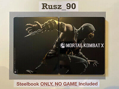 Mortal Kombat X Steelbook (NO GAME) Kollector's Collectors Edition PS4/Xbox One