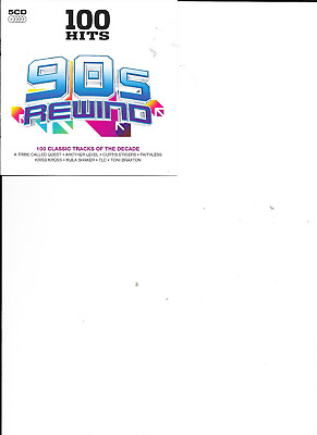 Various Artists - 100 Hits (90s Rewind ) ( Sony 5 CD 2014)