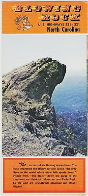 1960's Blowing Rock North Carolina Promotional Brochure