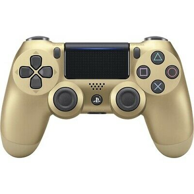 NEW DualShock 4 Wireless Controller Gaming Pad PS4 DS4 Gold US Sony PlayStation