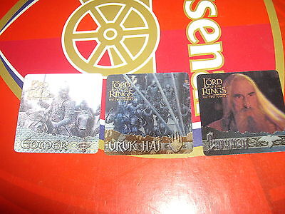 Lord Of The Rings TTT Action Flipz chase set AF1-3