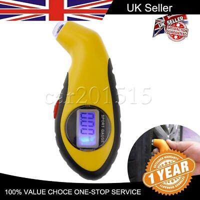 Digital Tyre Air Pressure Guage Auto Tool Truck LCD Bike Meter Tester Car Tire