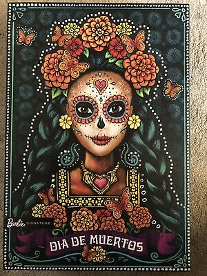 BARBIE Dia De Los Muertos - Day of The Dead Mexican Doll 2019 Mattel