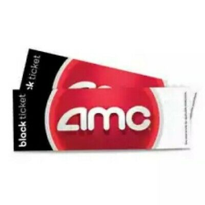 AMC Theaters: 2 Black Tickets - Fast E-Delivery