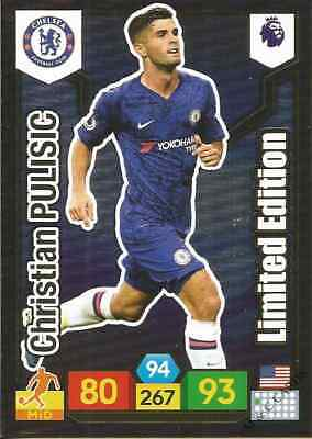 Panini Premier League 2019/20 Limited Edition Christian Pulisic Chelsea