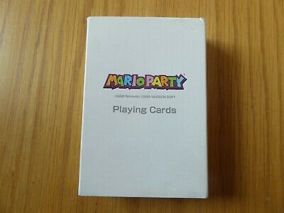 Mario Party 8 Club Nintendo Hudson Soft Promtional Playing Card Deck **NEW**