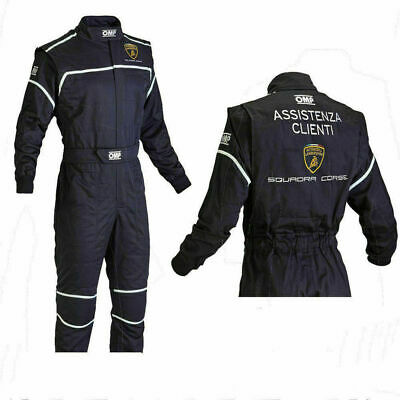 OMP Lamborghini Sublimation Go-Kart Race Suit Level 2