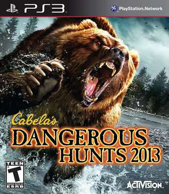 Cabela''s Dangerous Hunts 2013 PS3 New PlayStation 3, Playstation 3