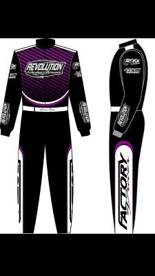 Revolution sublimation print Go Kart Race Suit CIK/FIA Level 2