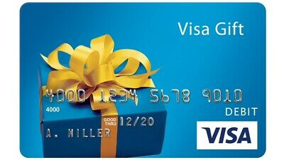 $400 GIFT CARD. ACTIVATED. FREE SHIPPING! No Fees After Purchase. Non Reloadable