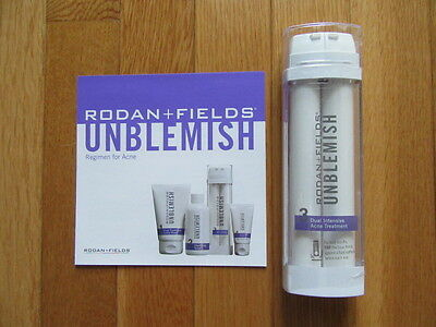 Rodan + Fields Unblemish: #3 Dual Intensive Acne Treatment, Sealed $102, 11/2020