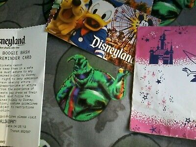 2 Disneyland Tickets Oogie Boogie Bash Halloween night Oct 31 SOLD OUT !