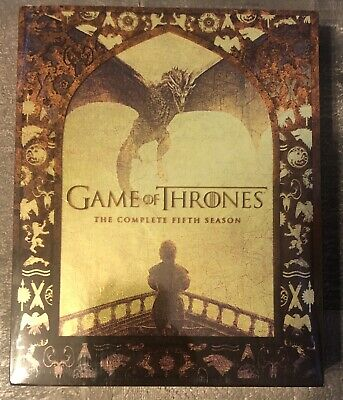 Game of Thrones: The Complete Fifth Season on Blu-ray (4-Disc Set)