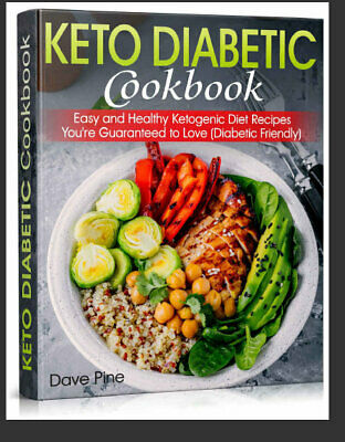 Keto Diabetic Cookbook – Easy and Healthy Ketogenic  - Eb00k/PDF - FAST Delivery