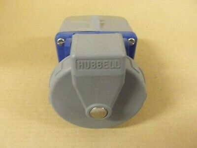 Hubbell Watertight Receptacle And Base 530R9W 30 Amp 3 Phase 4W 120v 208v