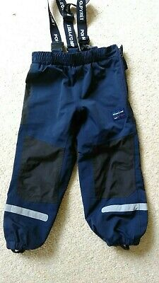 polarn o pyret waterproof Shell trousers Age 3-4 Years