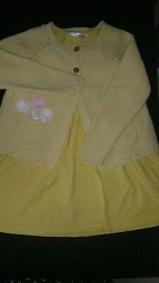 Girls Bundle Outfit Lime Peel Green, 2 Years
