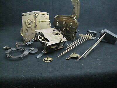 Vintage Clock Parts (Poss Wesminster Chime & others)