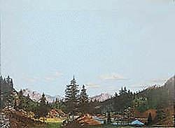 Walthers Scenemaster Ho Scale 1/87 Background Scene Tall Timber 949-702
