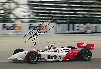 Gil de Ferran Hand Signed 12x8 Photo - Indy 500 Autograph.