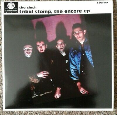 """The Clash Tribal Stomp The Encore EP 7"""" Blue Vinyl 50 Only"""