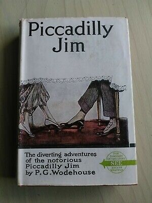 PICCADILLY JIM PG Wodehouse vintage hardcover book with dustjacket 24th printing