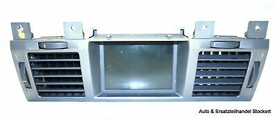 Opel Vectra C Display Borddisplay (NAVI) mit Lüftdüsen 13156045