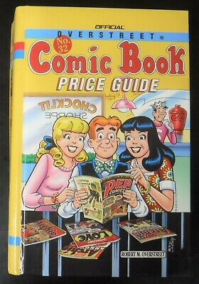 Overstreet Comics Price Guide #32 - Rare Archie's Cover - Hardcover 2002