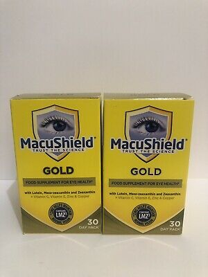 2 X 90 Macushield Gold Eye Supplement Capsules 2 Months Supply