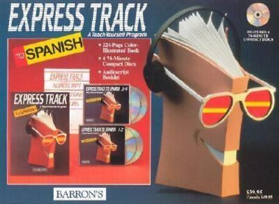 Express Track to Spanish Compact Disc Package Learn Language Barron's (E1)